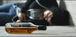 Alcohol overdose