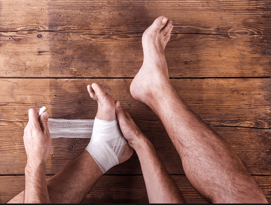 Ankle ulcers