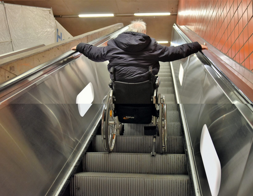 How wheelchair users travel