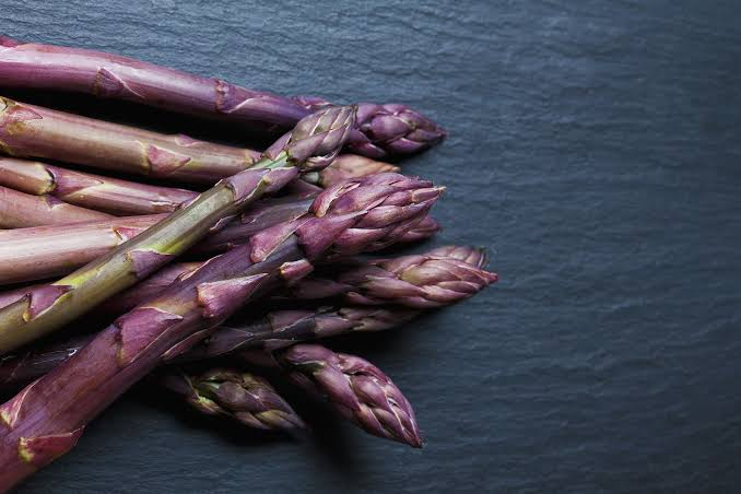 Purple asparagus nutritious purple foods