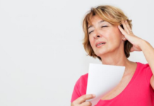 hot flashes in women during menopause