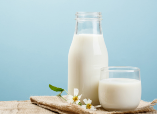 best time to drink milk