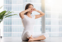 Yogic eye exercises