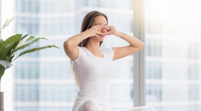 Yogic eye exercises