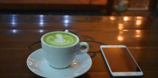 green tea latte