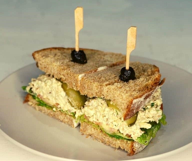 Eggless sandwich